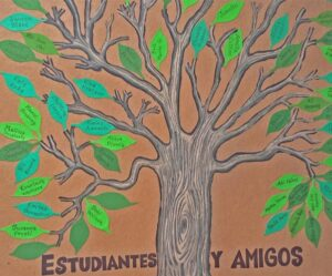 Tree with Student Names